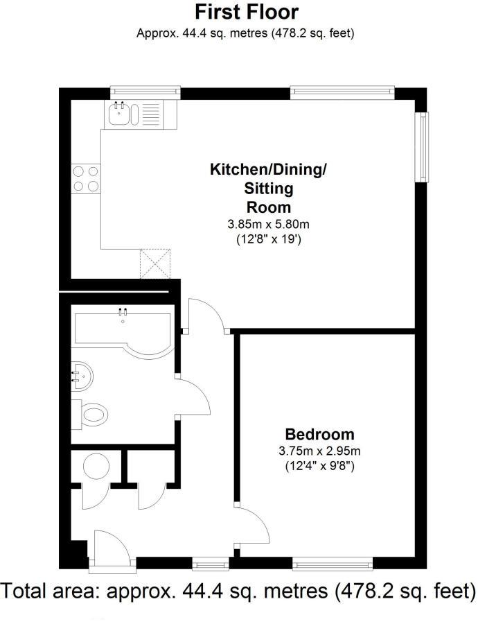New Road, Cambridge, Harston floorplan